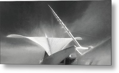 Milwaukee Art Museum September Metal Print by Scott Norris