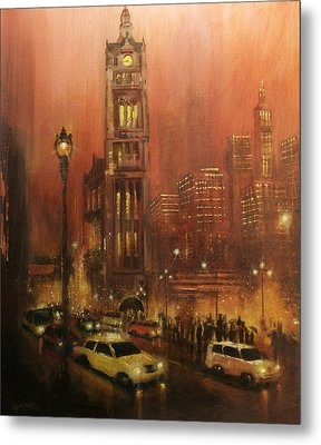 Milwaukee City Hall Metal Print by Tom Shropshire