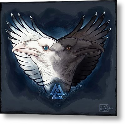 Mind And Thought Metal Print by Alexa-Renee