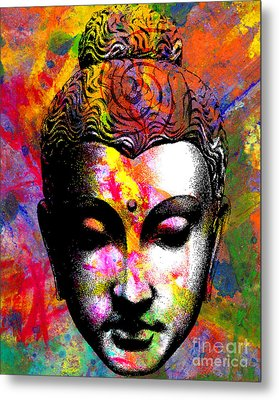 Mind Metal Print by Ramneek Narang