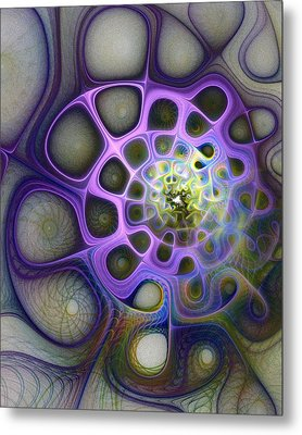 Mindscapes Metal Print by Amanda Moore