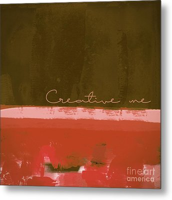 Minima - Creative Me - Ch201 Metal Print by Variance Collections