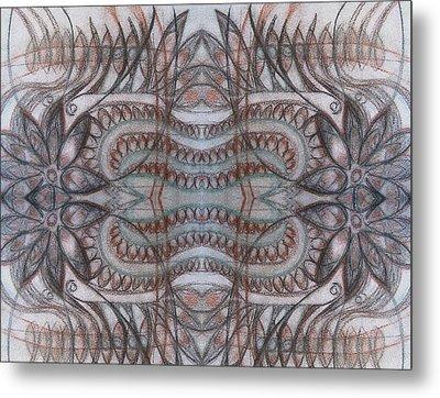 Mirror Image Metal Print by Ariela