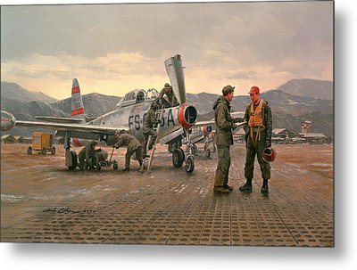 Mission From Taegu Metal Print by National Guard Bureau