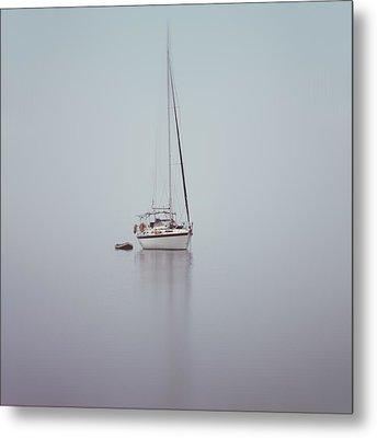 Misty Weather Metal Print by Stelios Kleanthous