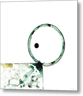 Modern Art - Balancing Act 2 - Sharon Cummings Metal Print by Sharon Cummings