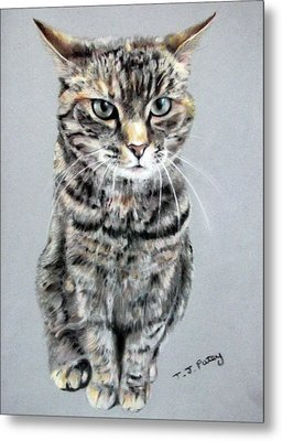 Molly 2 Metal Print by Tanya Patey