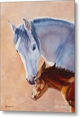 Mommy's Love Metal Print by Danielle Smith