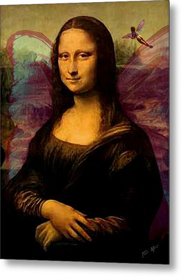 Monalisa The Fairy Metal Print by Tray Mead
