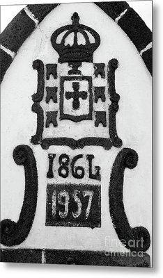 Monarchy Symbols Metal Print by Gaspar Avila