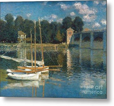 Monet: Argenteuil Metal Print by Granger