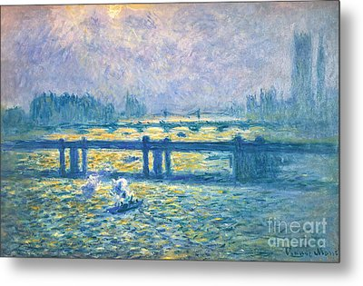 Monet: Charing Cross Metal Print by Granger