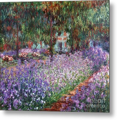 Monet: Giverny, 1900 Metal Print by Granger
