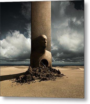 Monolith Metal Print by Michal Karcz