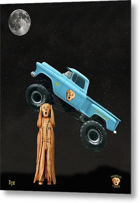 Monster Truck The Scream World Tour  Metal Print by Eric Kempson