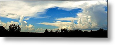 Monuments In The Sky Metal Print by James Granberry