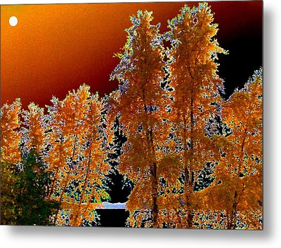 Moonglow Brilliance Metal Print by Will Borden