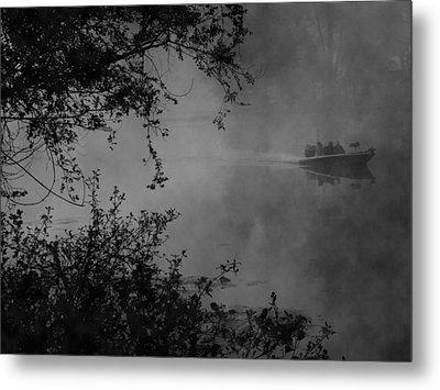 Morning Fisherman Metal Print by Michael L Kimble