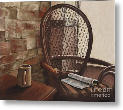 Morning Haven Metal Print by Tina Foote