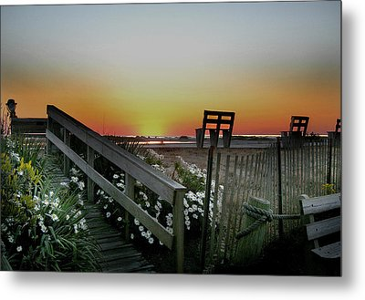 Morning View  Metal Print by Skip Willits