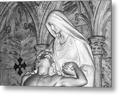 Mother And Son Metal Print by Sharla Gentile