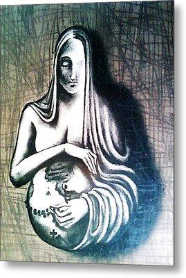 Mother Earth Metal Print by Paulo Zerbato