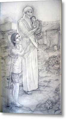 Mother Theresa Metal Print by Patrick RANKIN