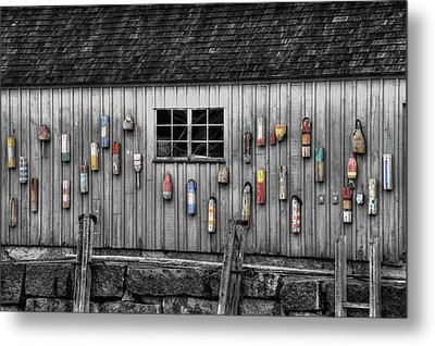 Motif No 1 - Fish Shack Metal Print by Joann Vitali