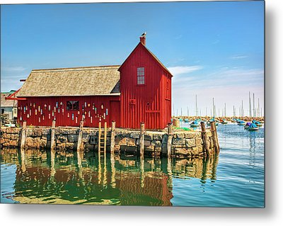 Motif One Metal Print by Marcia Colelli