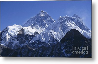 Mount Everest Nepal Metal Print by Rudi Prott