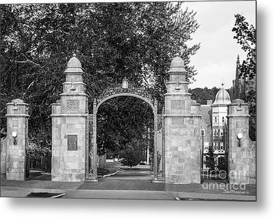 Mount Holyoke College Field Gate Metal Print by University Icons