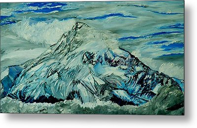 Mount Hood  Metal Print by Gregory A Page