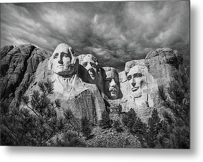 Mount Rushmore II Metal Print by Tom Mc Nemar