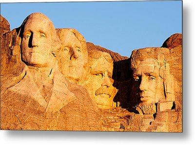 Mount Rushmore Metal Print by Todd Klassy
