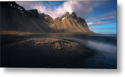 Mount Vestrahorn Metal Print by Tor-Ivar Naess