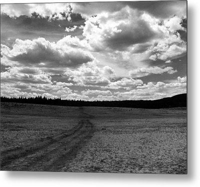 Mountain Skyscape Metal Print by Allan McConnell