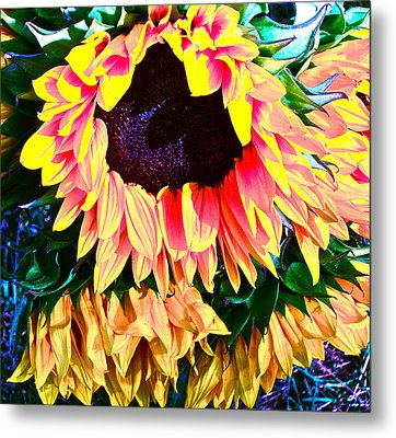 Mourning Metal Print by Gwyn Newcombe