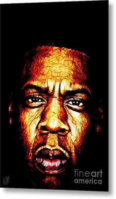 Mr Carter Metal Print by The DigArtisT