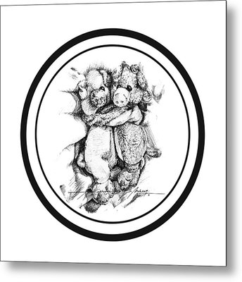 Mr.andmrspeggysweet Metal Print by Roa Malubay