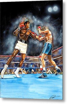 Muhammad Ali Metal Print by Dave Olsen