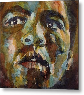 Muhammad Ali   Metal Print by Paul Lovering