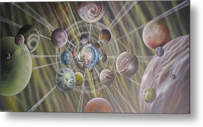Multiverse 582 Metal Print by Sam Del Russi