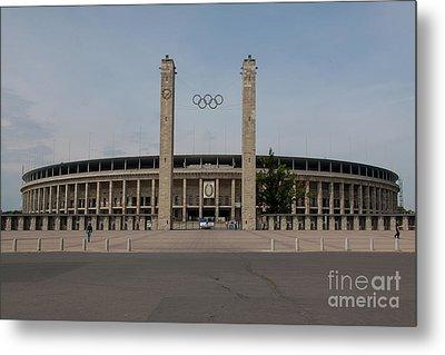 Berlin Olympic Stadium Metal Print by Stephen Smith
