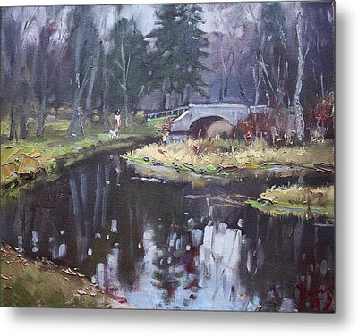 Murder Creek Ny Metal Print by Ylli Haruni