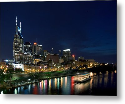 Music City Queen At Nashville Metal Print by Mark Currier