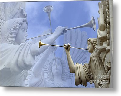 Music Divine Metal Print by Jeannie Burleson