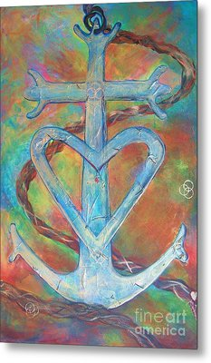 My Anchor Metal Print by Deb Magelssen