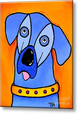 My Brother Is Blue Too Metal Print by Tim Ross
