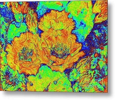 My Electric Delight  Metal Print by Summer Celeste