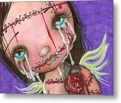 My Heart Metal Print by  Abril Andrade Griffith